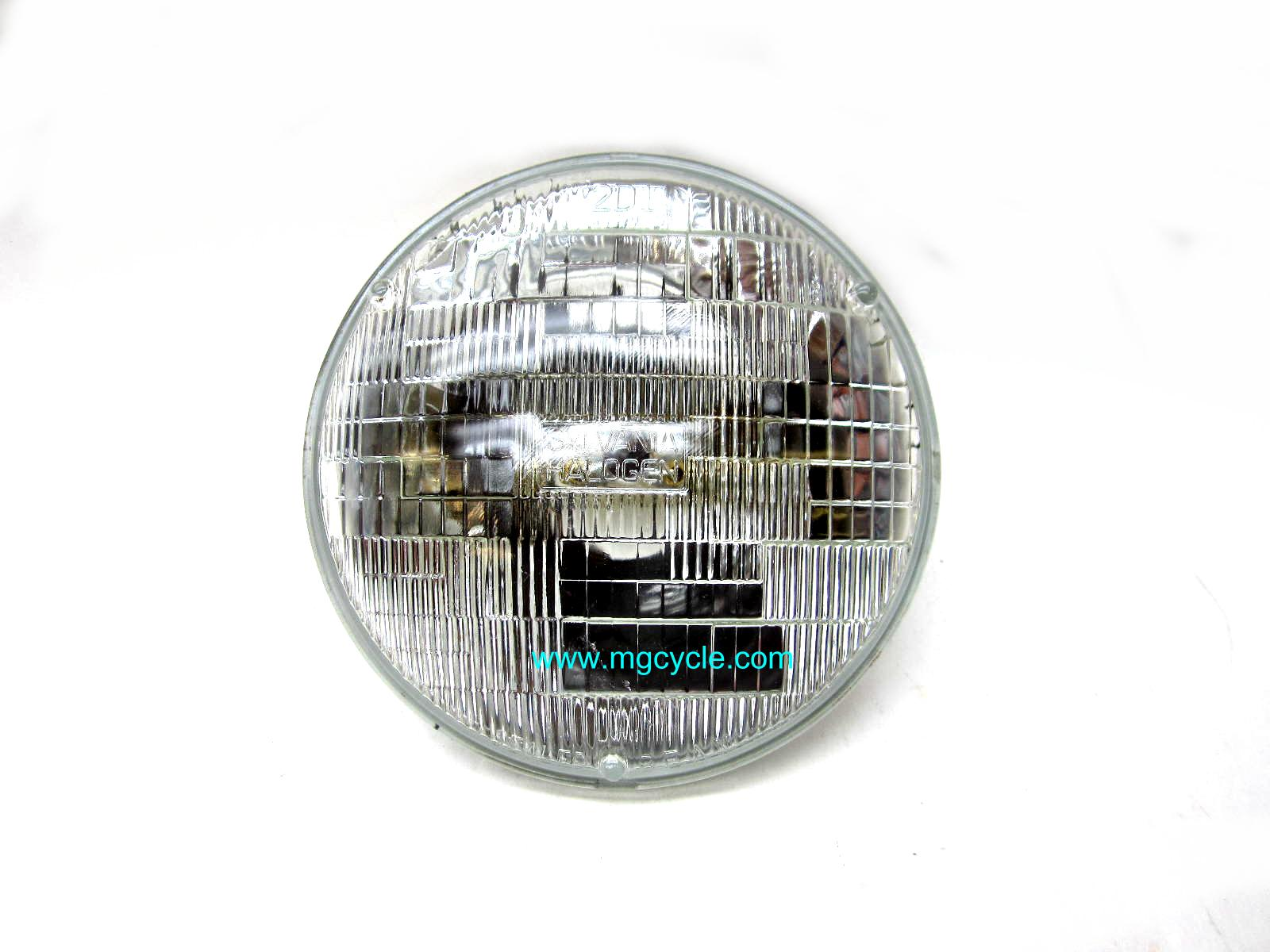 "7"" sealed beam headlight, 55/60W"
