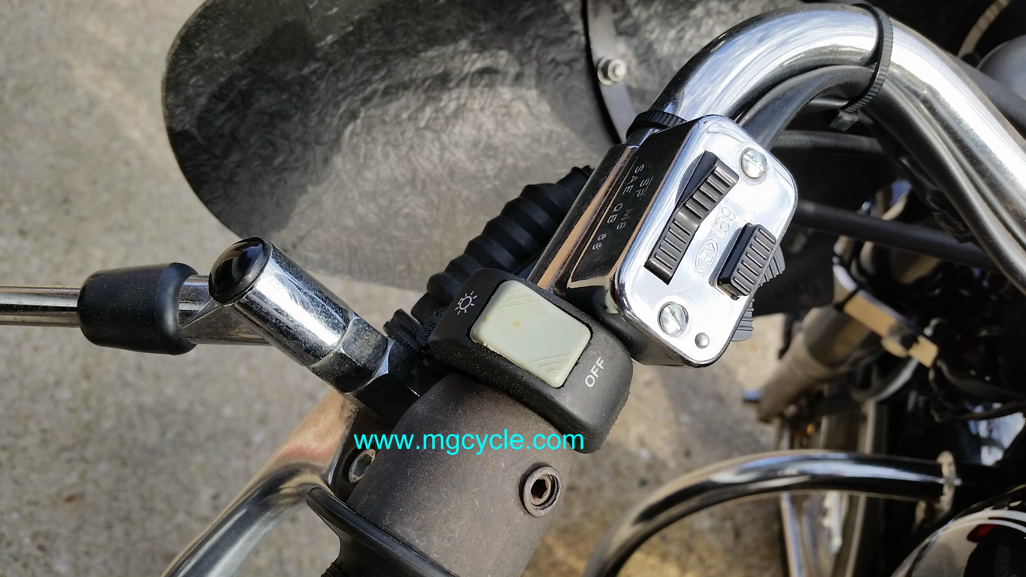 headlight switch, handlebar switch, on-off