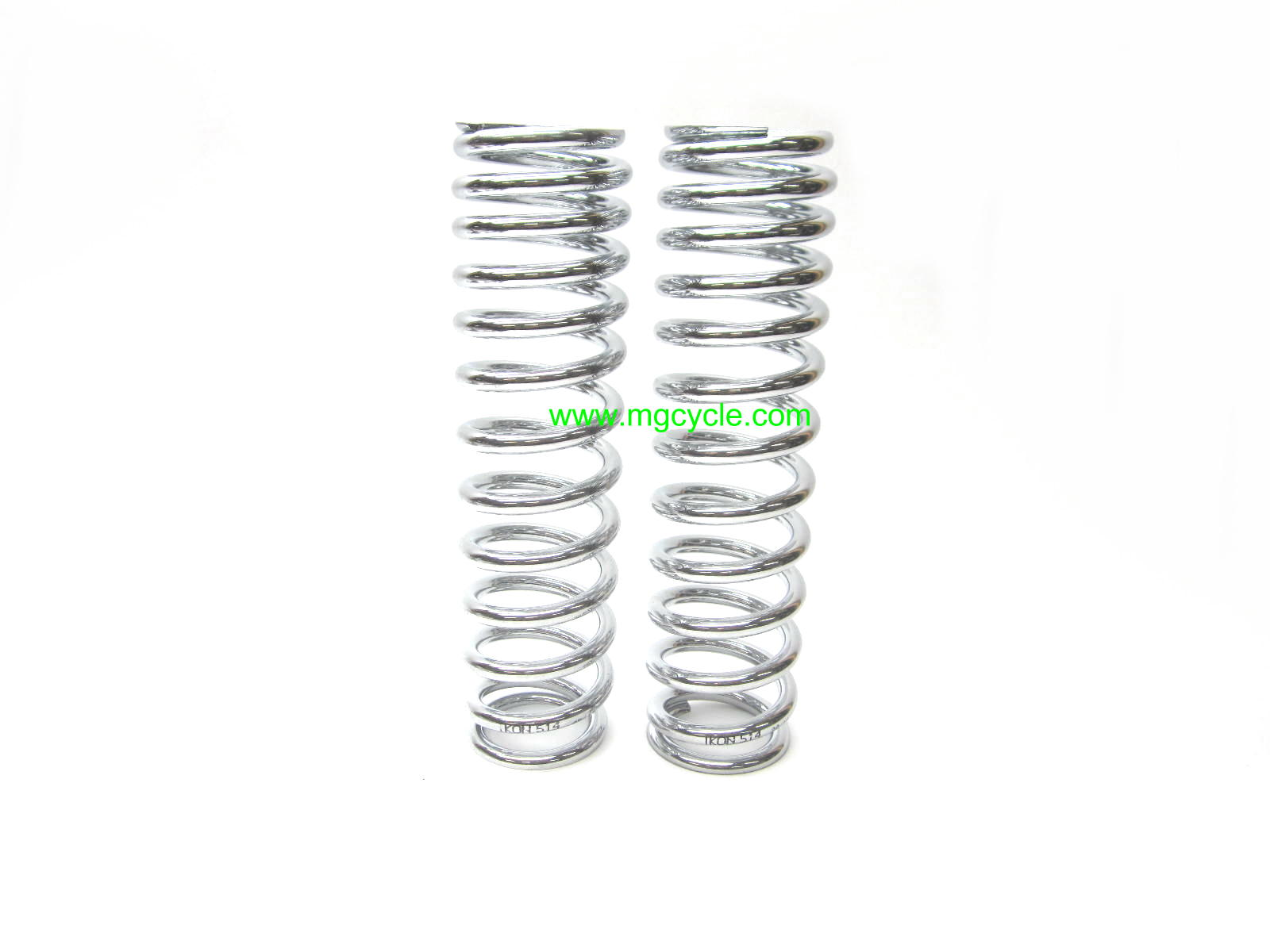 Ikon spring pair, chrome, 235mm medium heavy