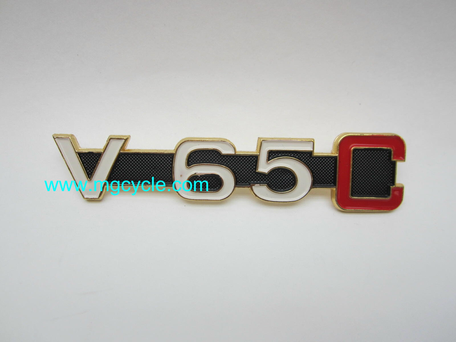 Side cover badge, emblem for V65C GU23922060