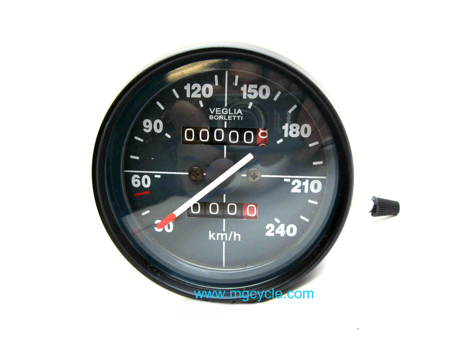 Veglia blue face speedometer, 240km/h, 80mm, 850 LeMans, etc