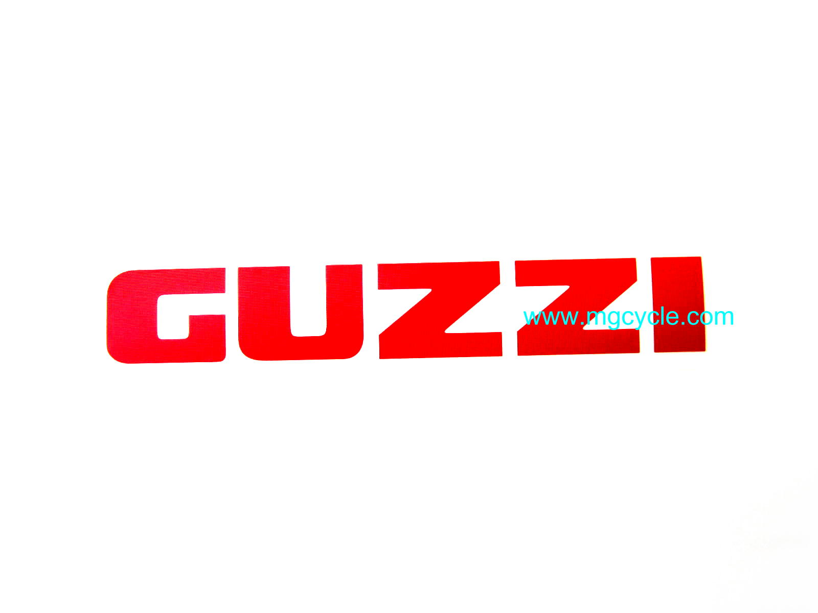 Guzzi fuel tank decal