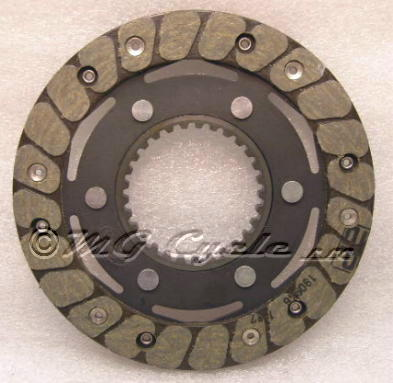 Stucchi clutch friction plate riveted shallow 2mm spline
