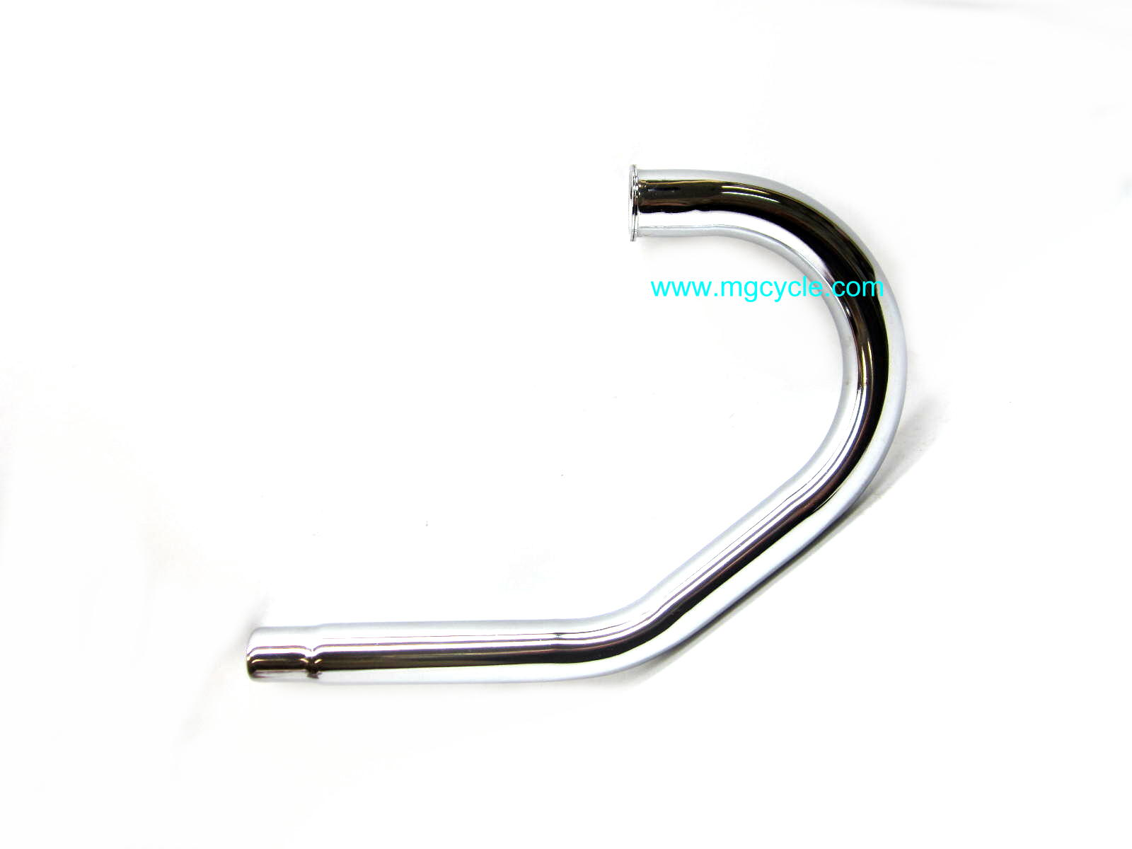 chrome head pipe, left side, LeMans III, LeMans 1000, 1000S