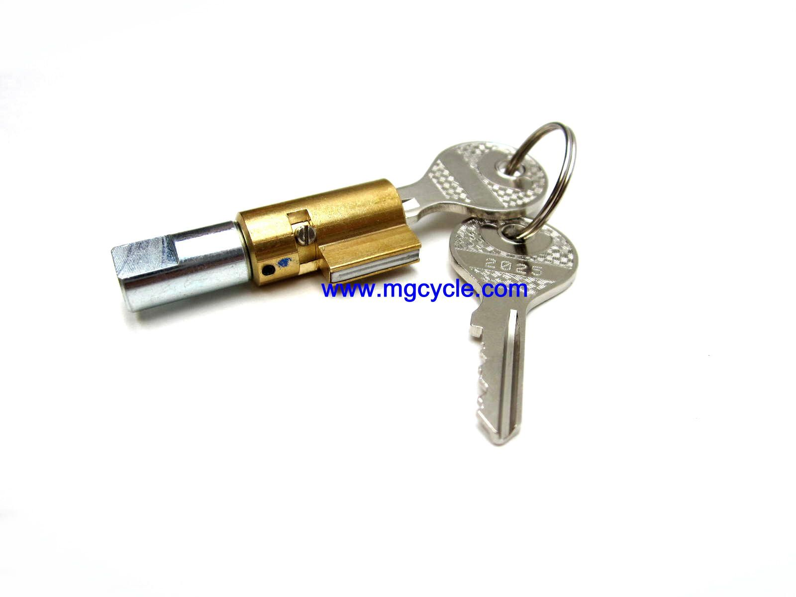 Fork lock, steering lock with keys Eldo T T3 G5 Convert LM1/2 SP