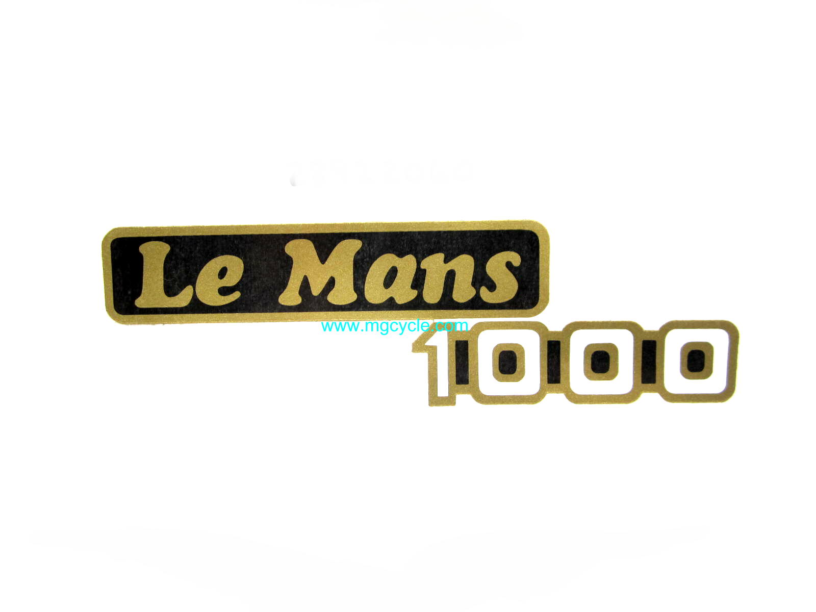 LeMans 1000 side cover decal, LeMans 4 and 5