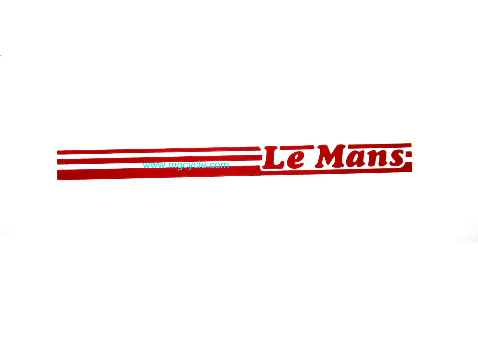 """LeMans"" stripes decal, red, last version LeMans 5"