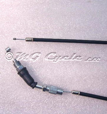 Throttle cable Cal3 carb long upper