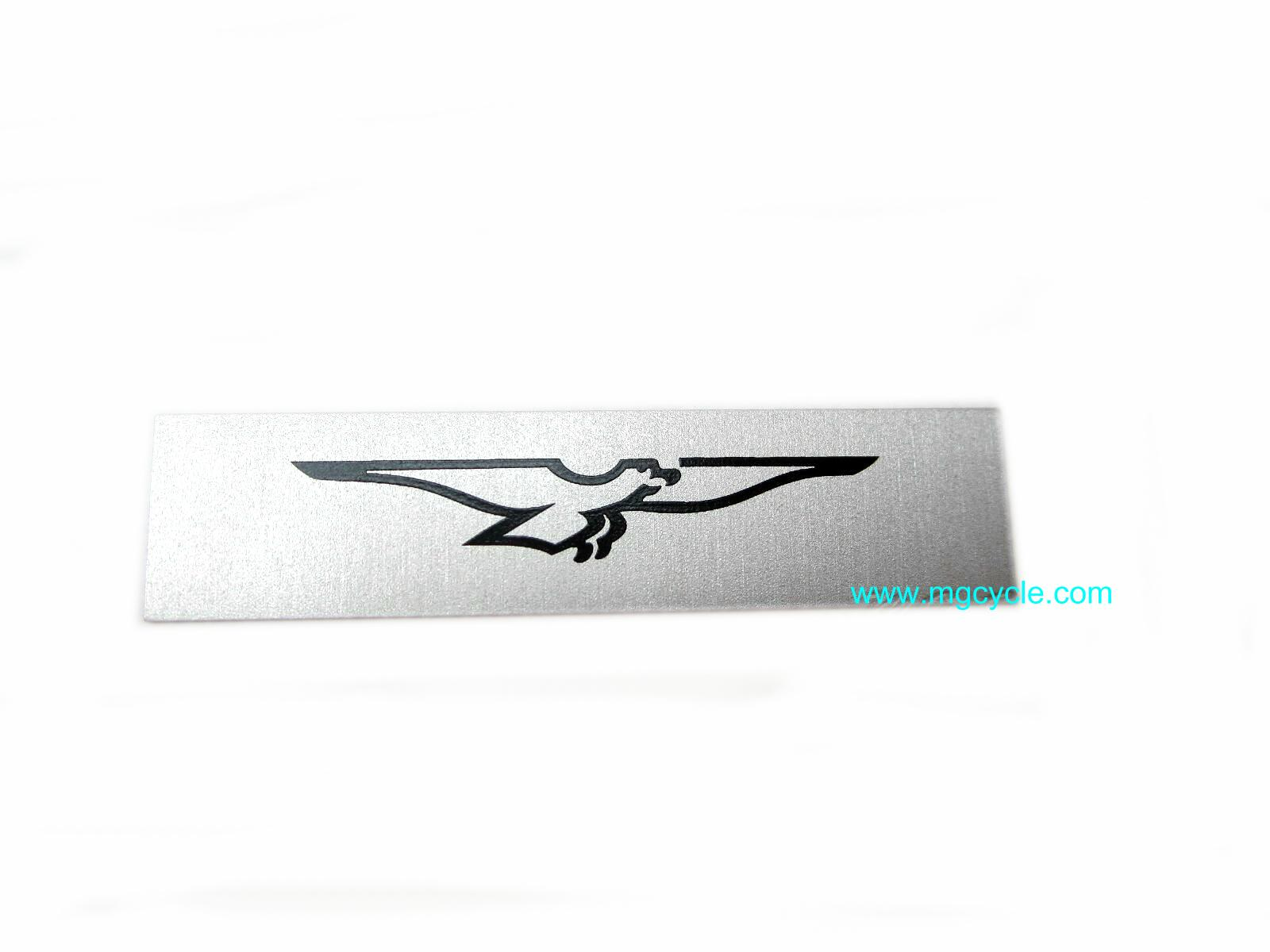 Eagle emblem, printed on aluminum GU29769500