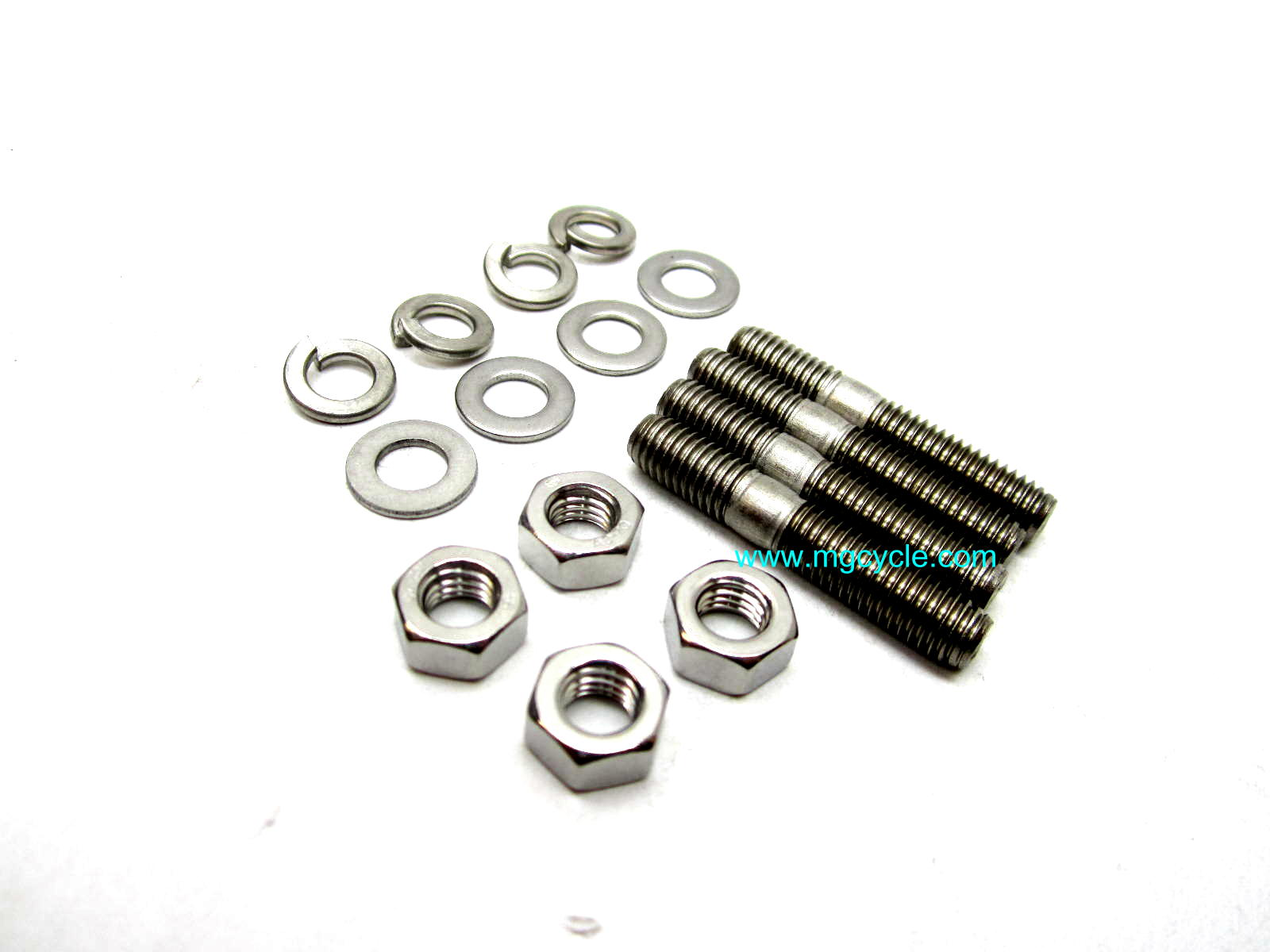 stainless exhaust stud kit, most big twins, with exceptions