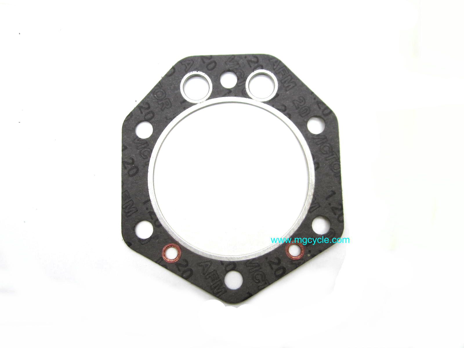 Head gasket for 1100cc, 92mm, 2 valve, square fins