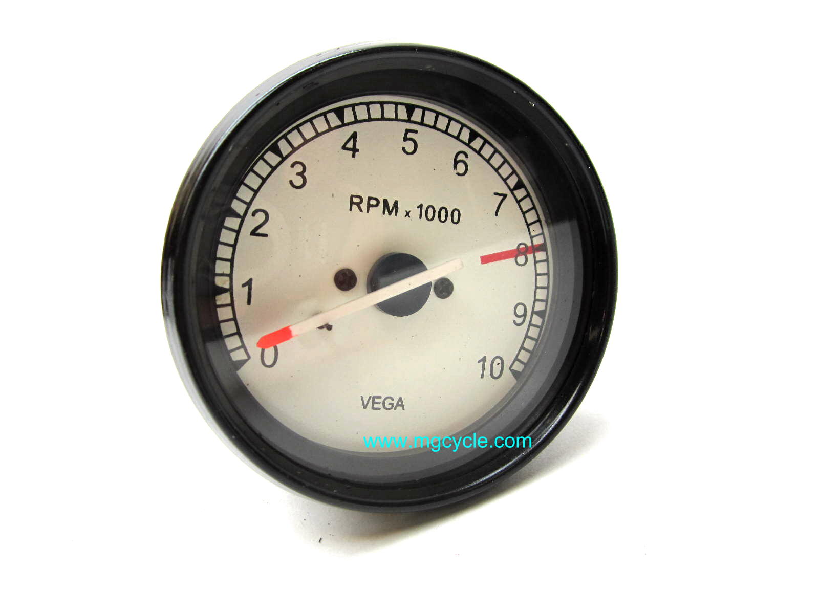 VEGA tachometer, 80mm, lighted - Click Image to Close