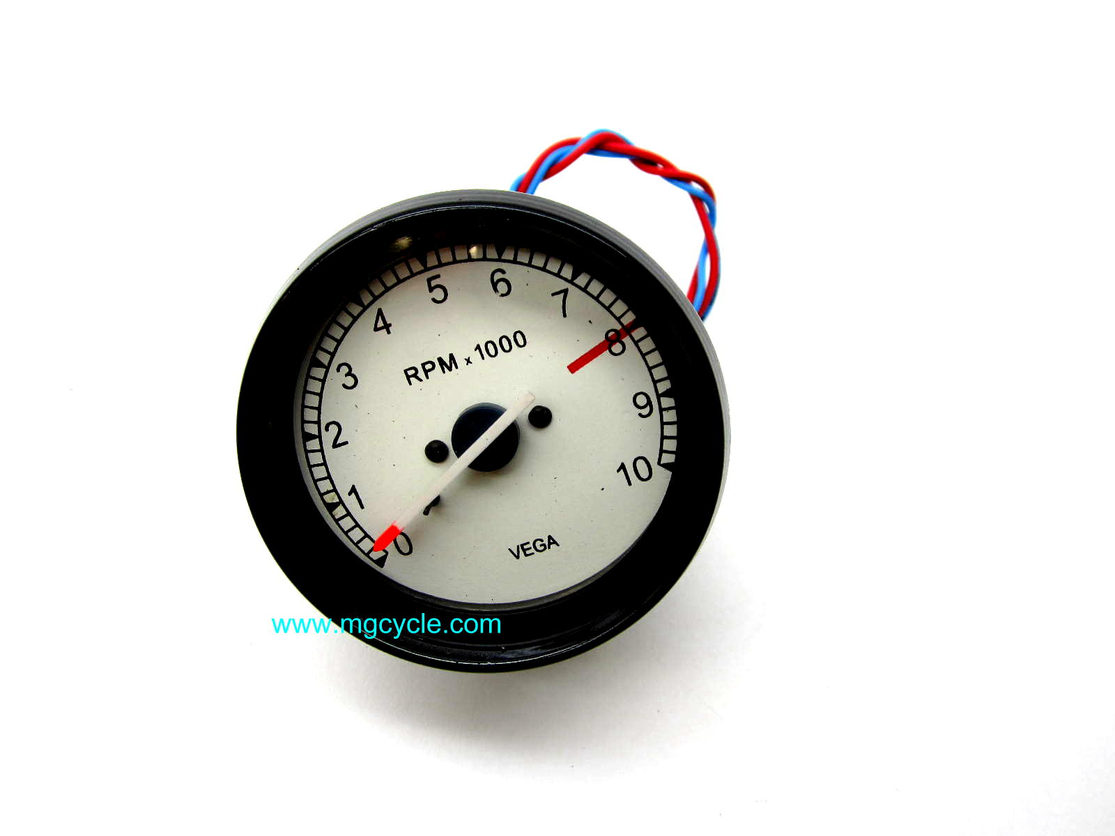 VEGA tachometer, 80mm, lighted