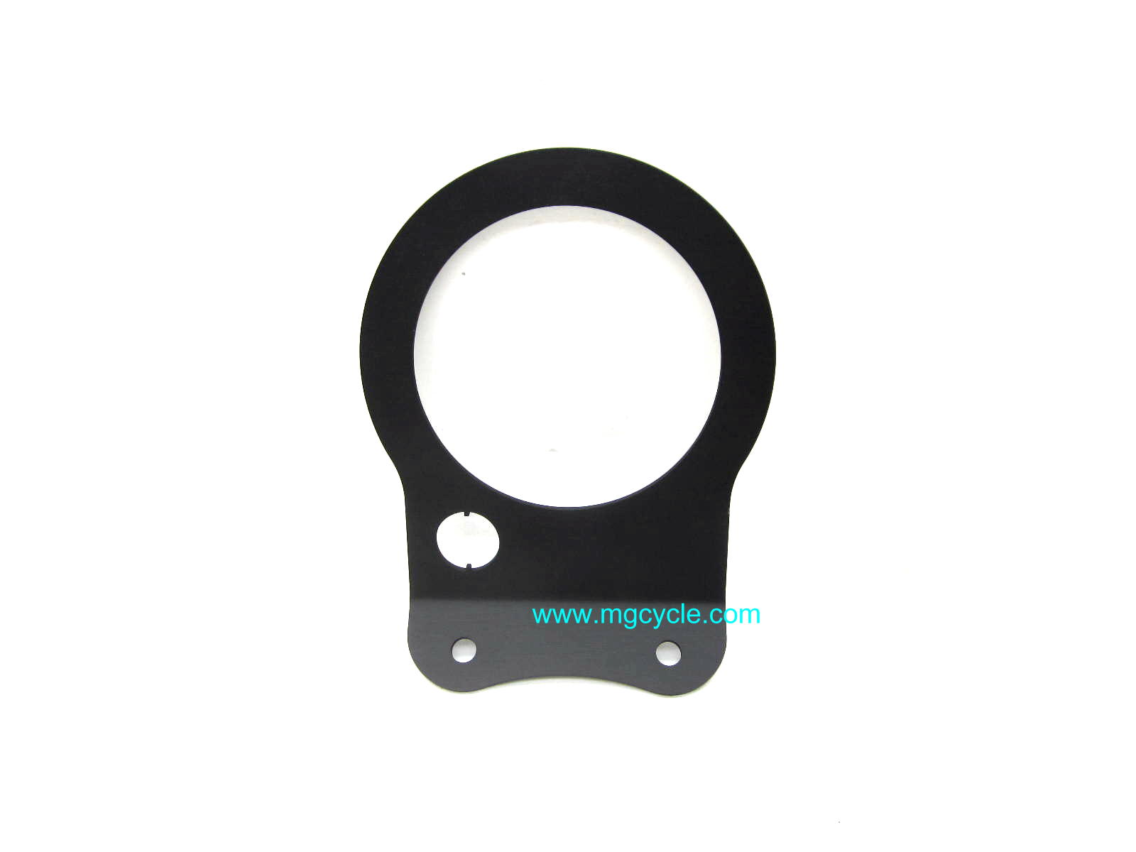 black 100mm instrument console face plate