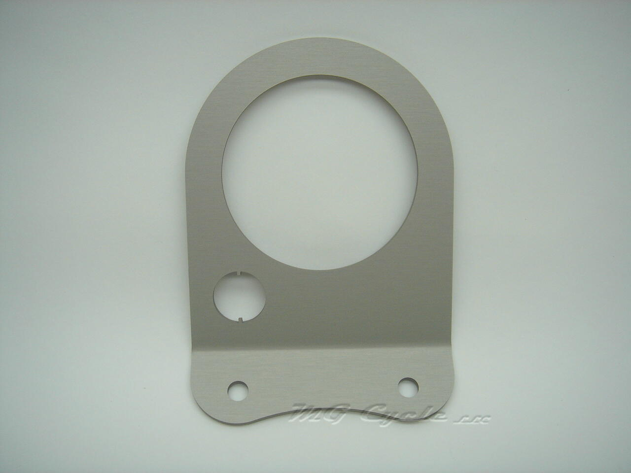 80mm silver instrument console face plate, single instrument