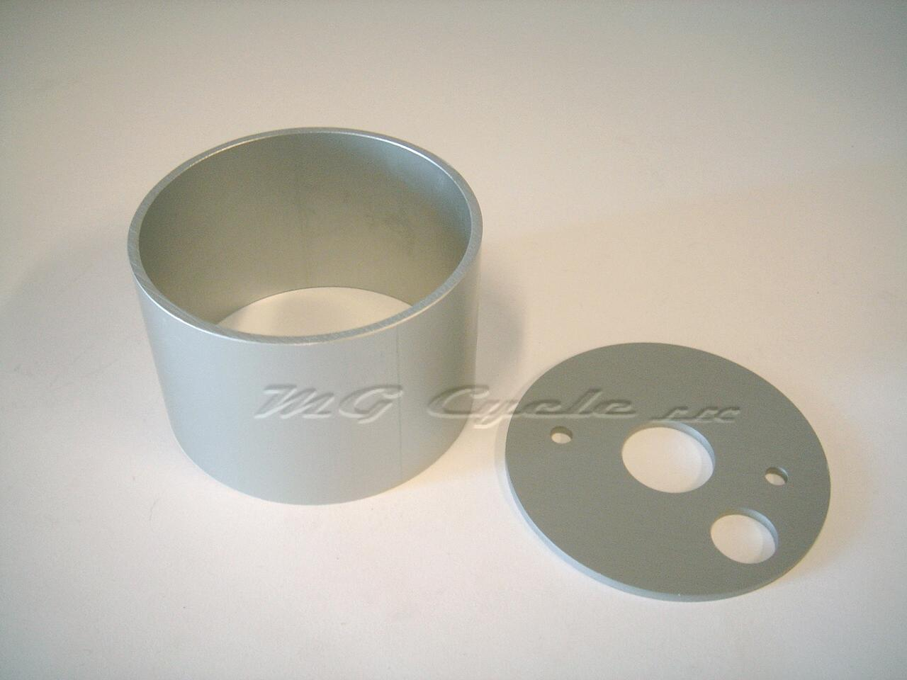 aluminum gauge cup with base for 80mm Veglia