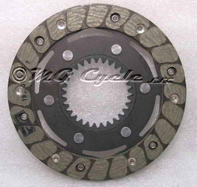 Stucchi clutch friction plate riveted deep 4mm spline
