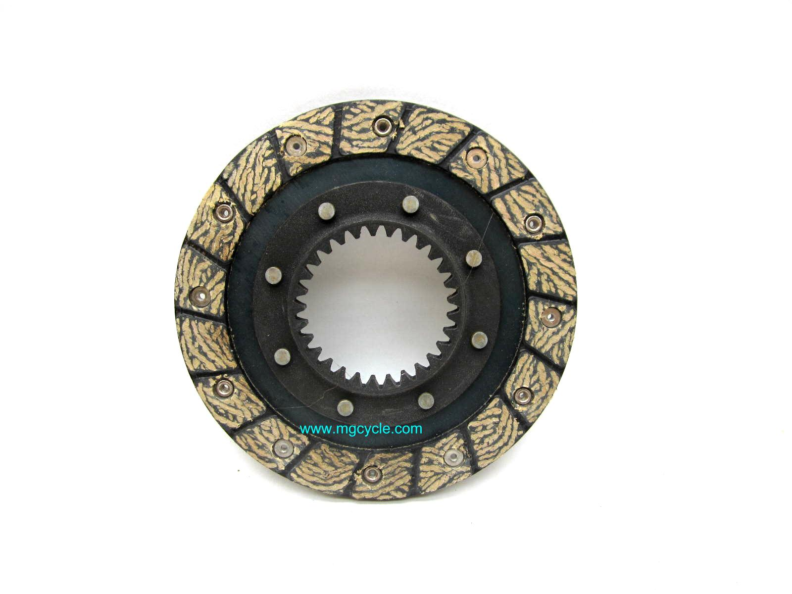 SD-TEC clutch plate, deep spline, bonded and riveted