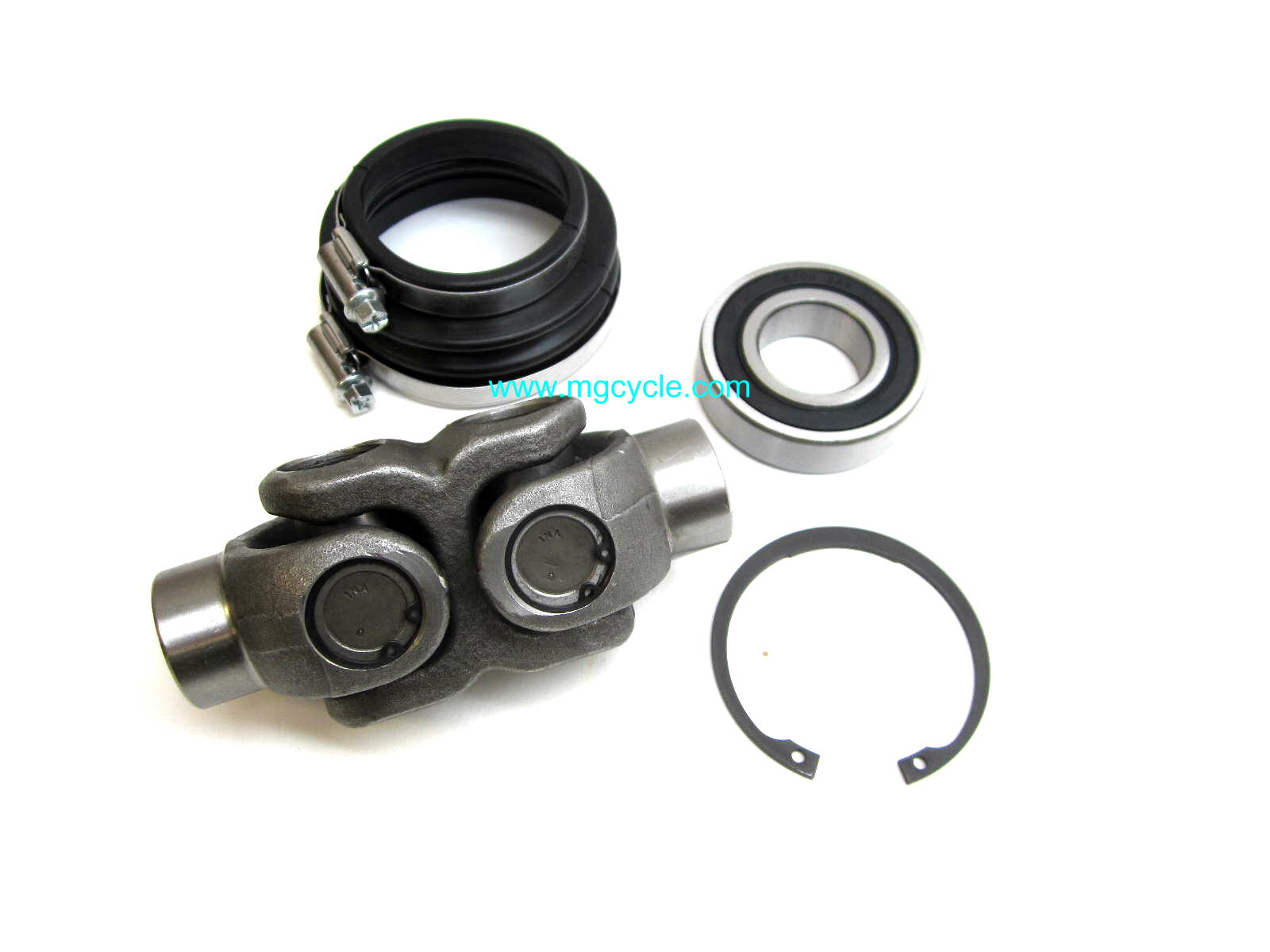 Universal joint kit for many rear disk brake big twins