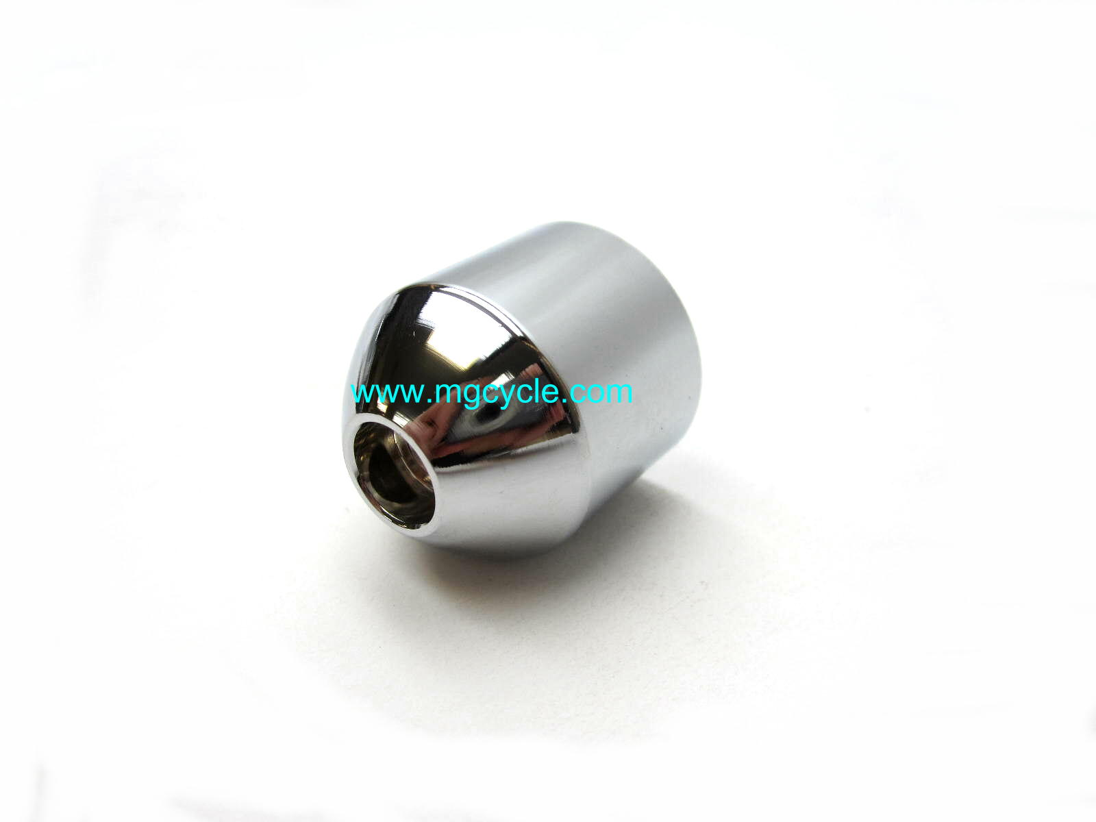 chrome bar end weight, anti-vibration weight