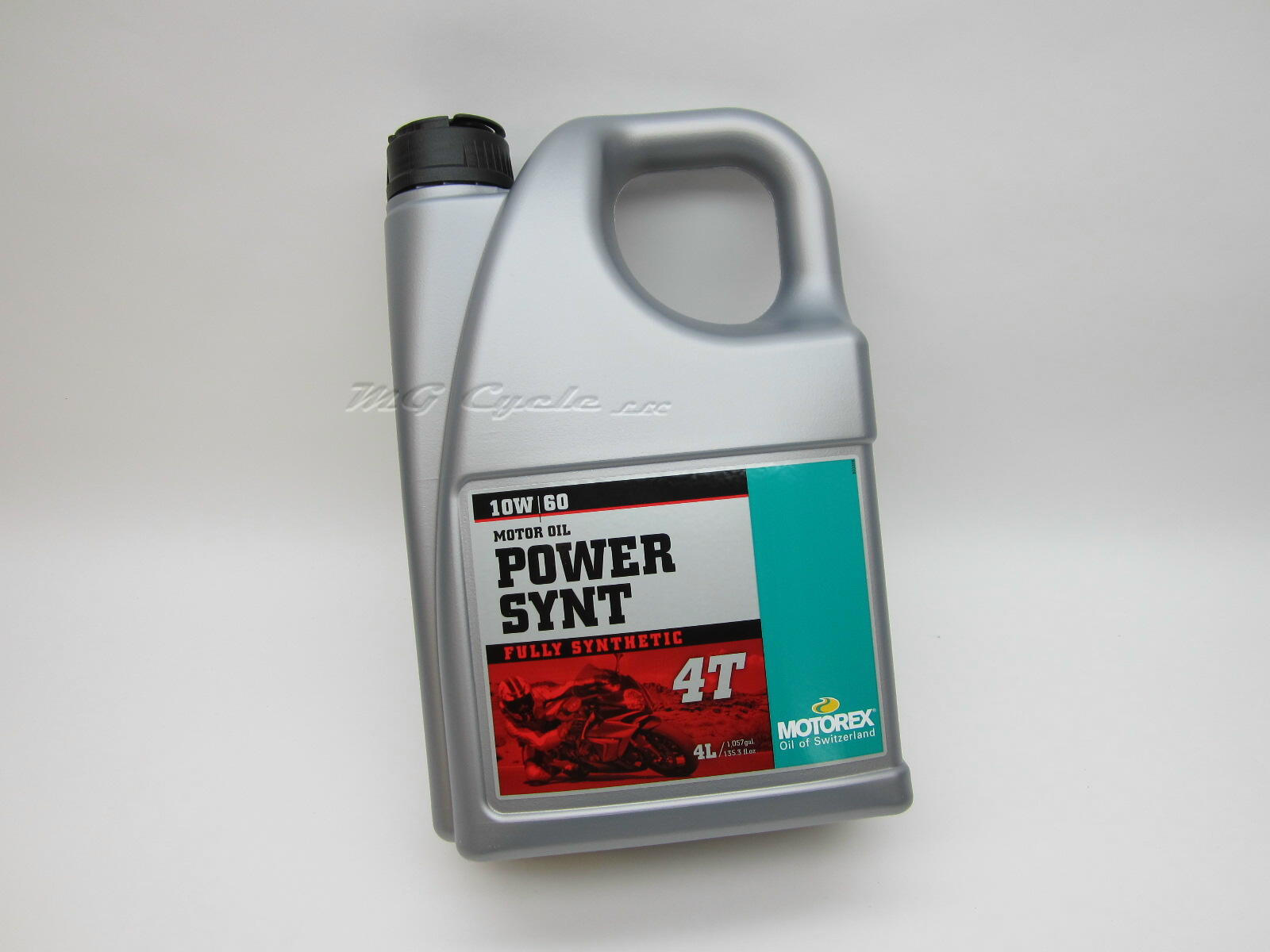 4 Liter Motorex POWER SYNT 4T 10W60 synthetic motor oil