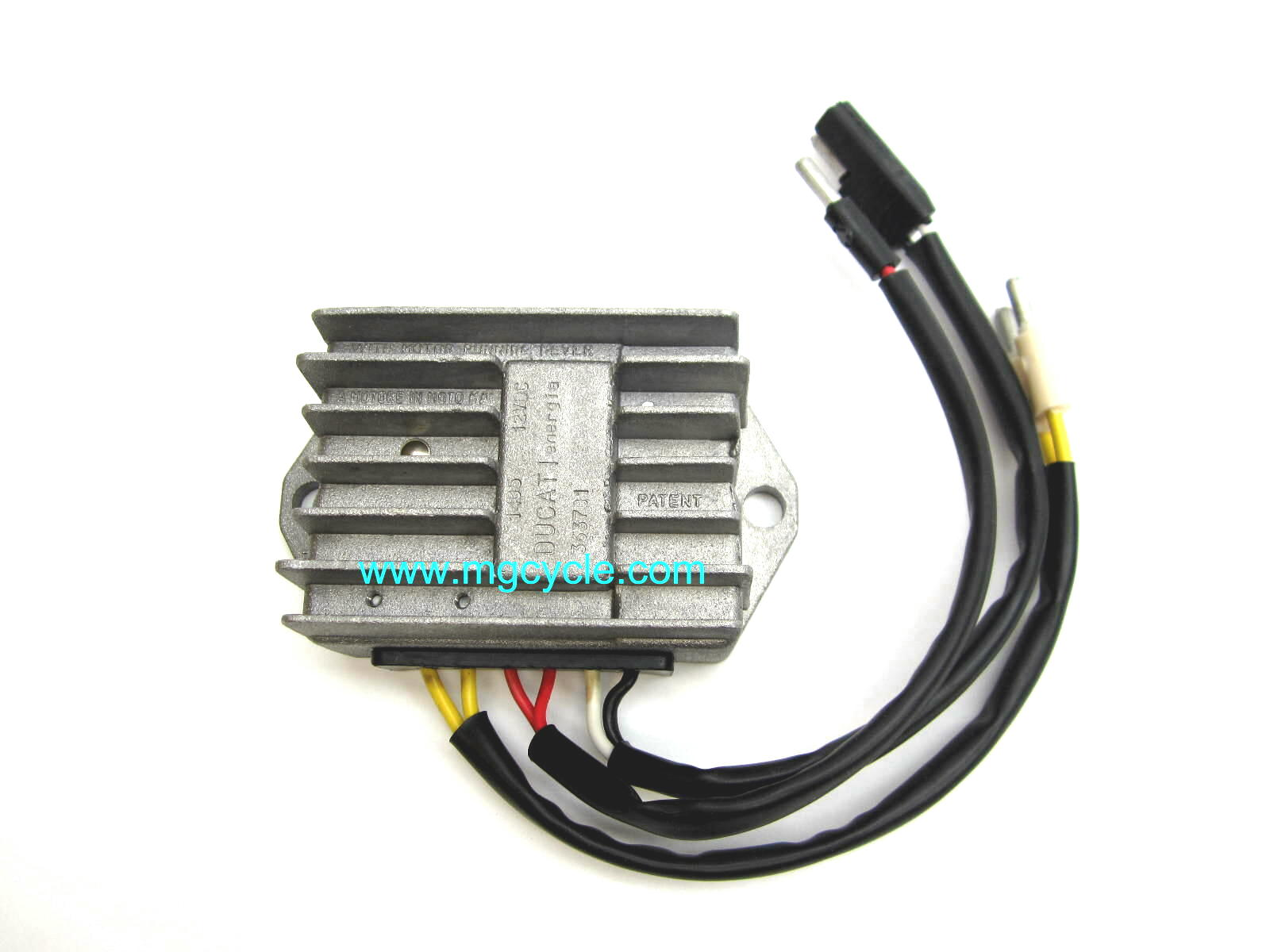 voltage regulator-rectifier for models with Ducati alternator