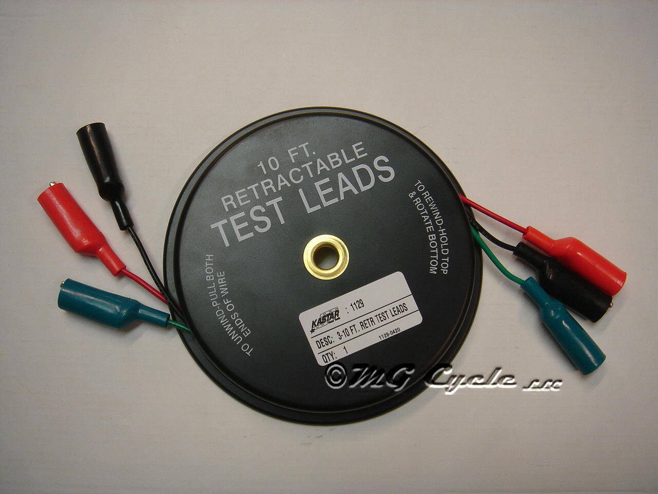 retractable test lead set