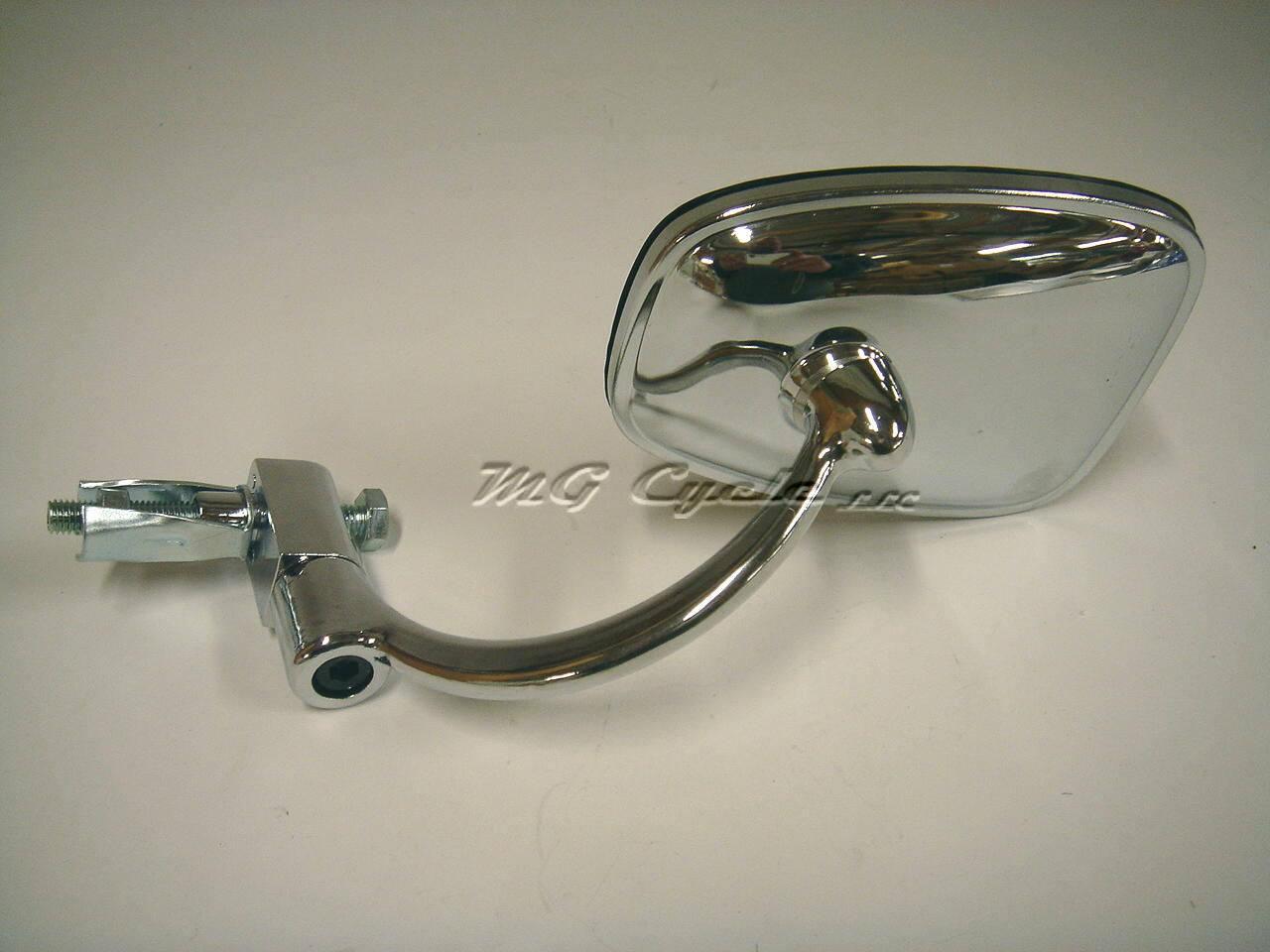 chrome plated handlebar end mirror, bar end mirror