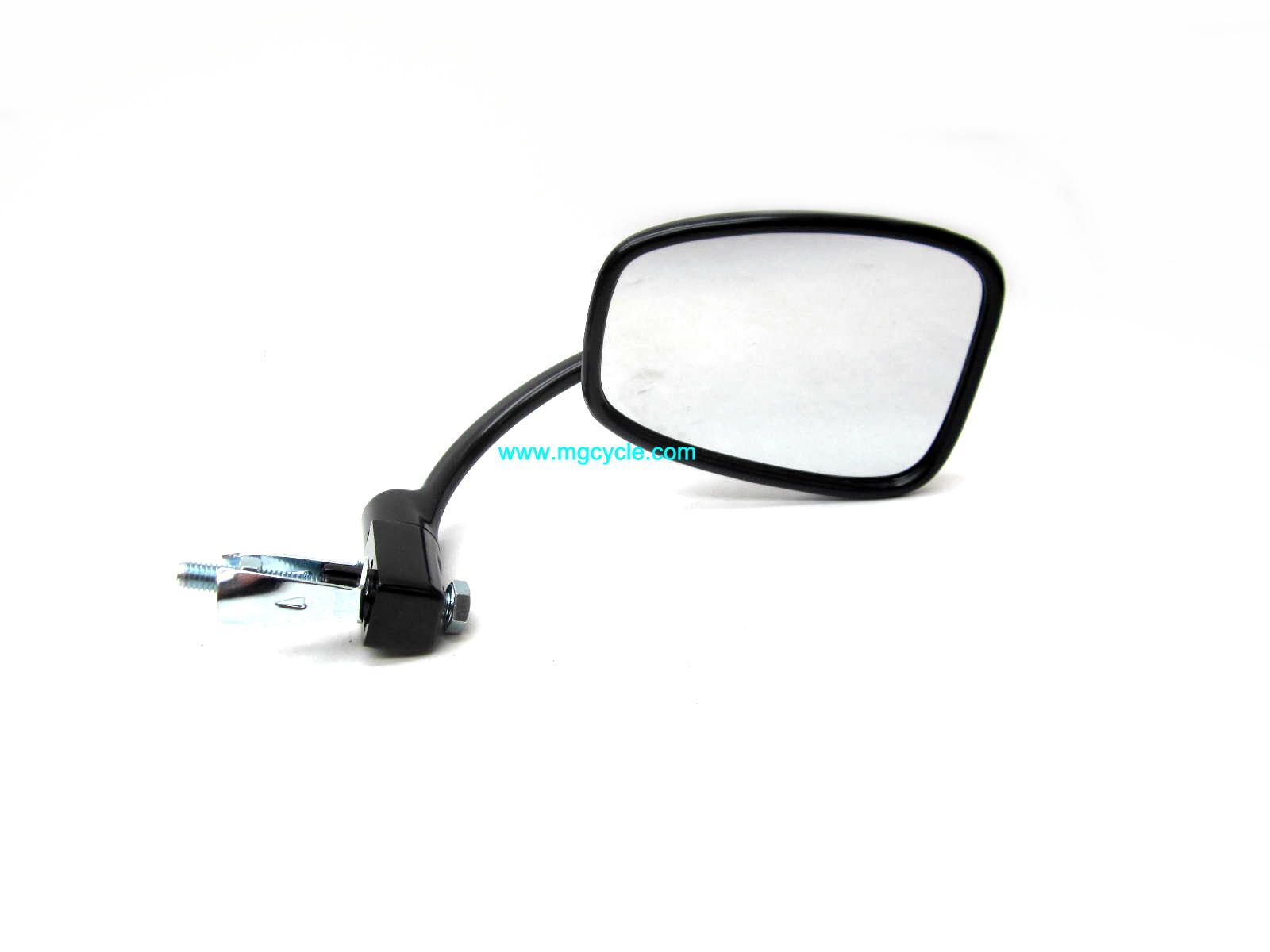 classic black handlebar end mirror, bar end mirror