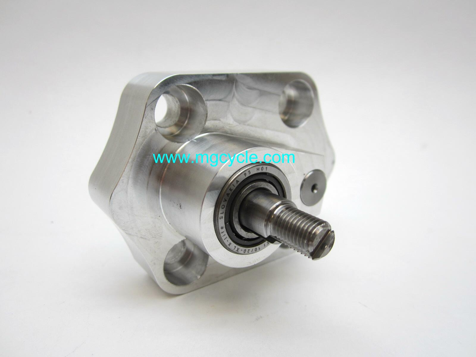 Improved oil pump for two valve big twins with oil filters