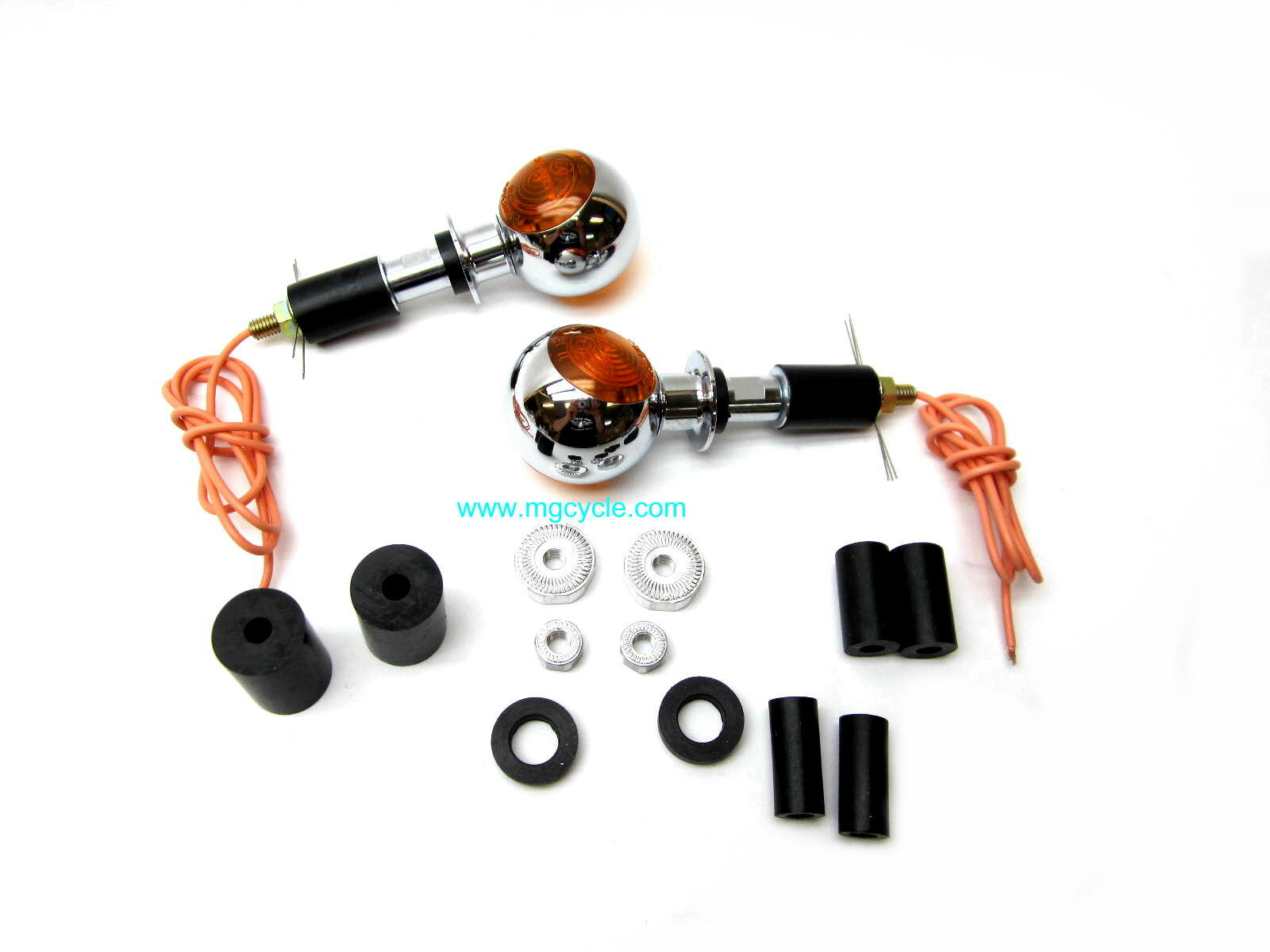 Clearance: Spherical bar end turn signal set