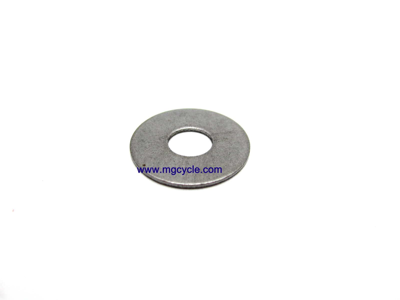 Shim, shift selector drum, 0.6mm, Big Twin 4 and 5 speeds