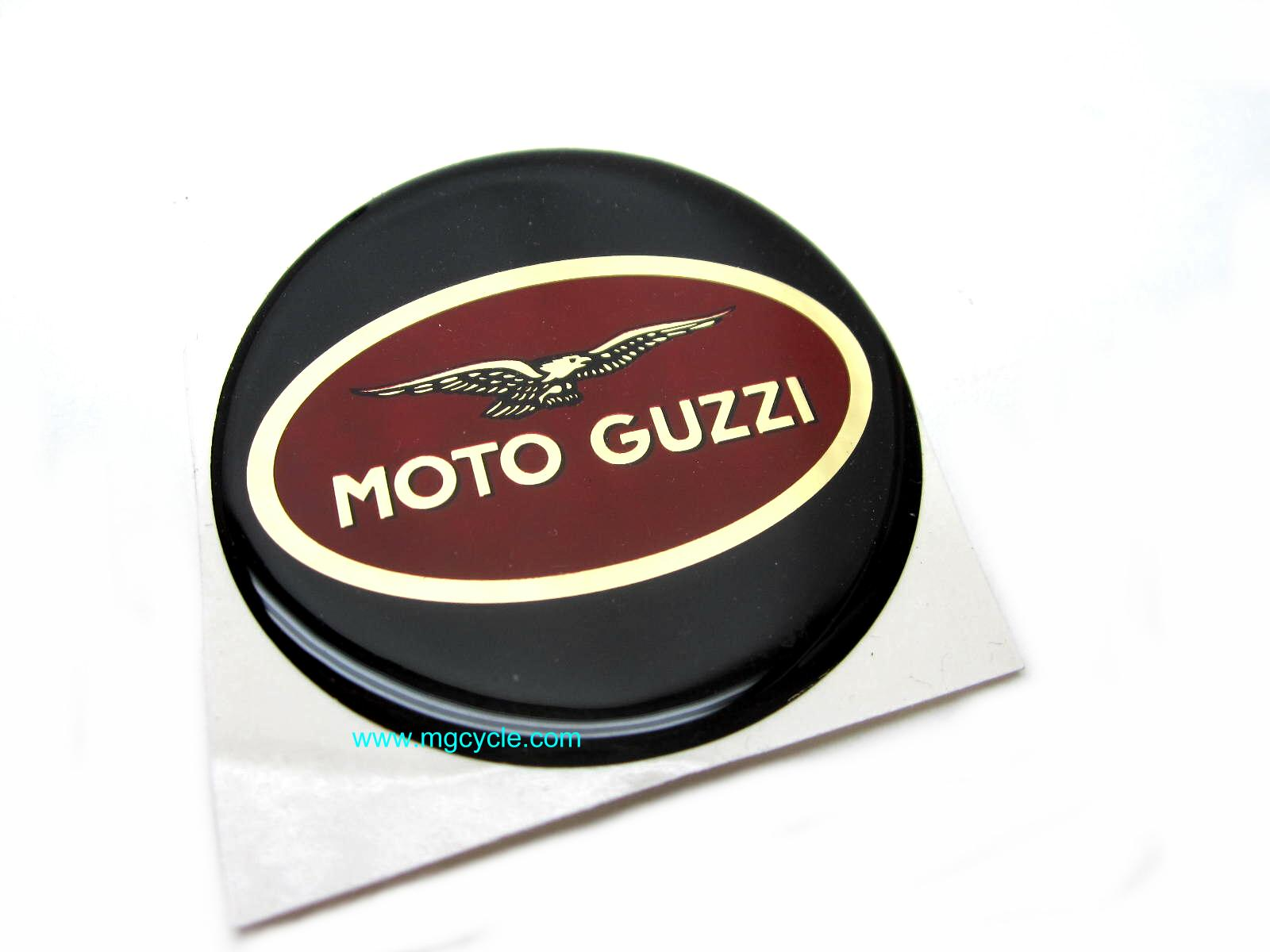 Hepco Becker 60mm Moto Guzzi emblem, fits Junior-2 bags