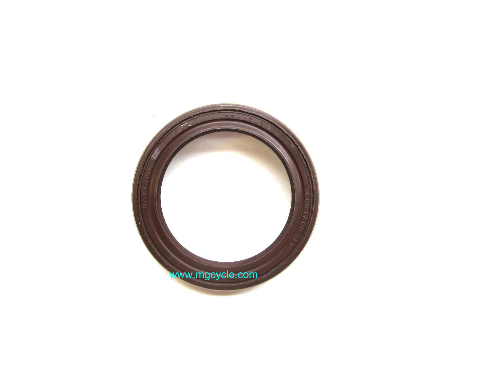 5 speed input seal, brown double lip Viton