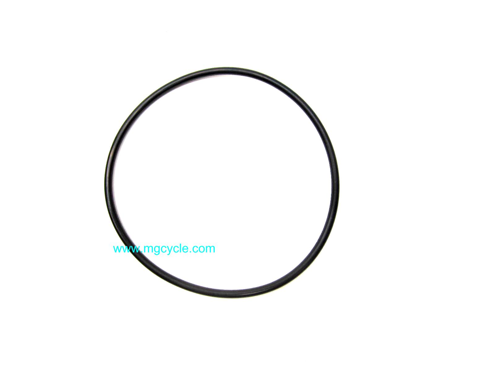 Oil filter cover o ring, Cent V11 Sport, speedo oring Eld Police