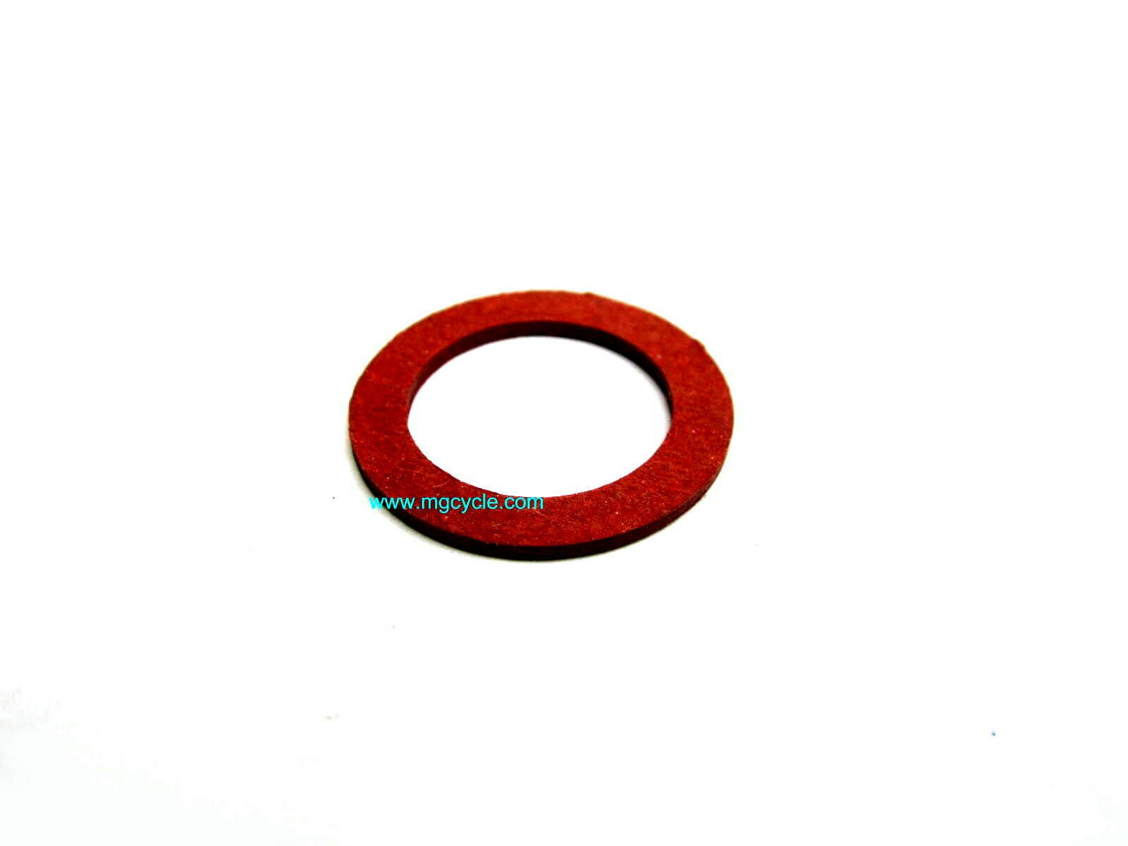20mm fiber washer for fill, drain plugs PHM/PHF bowl nut gasket