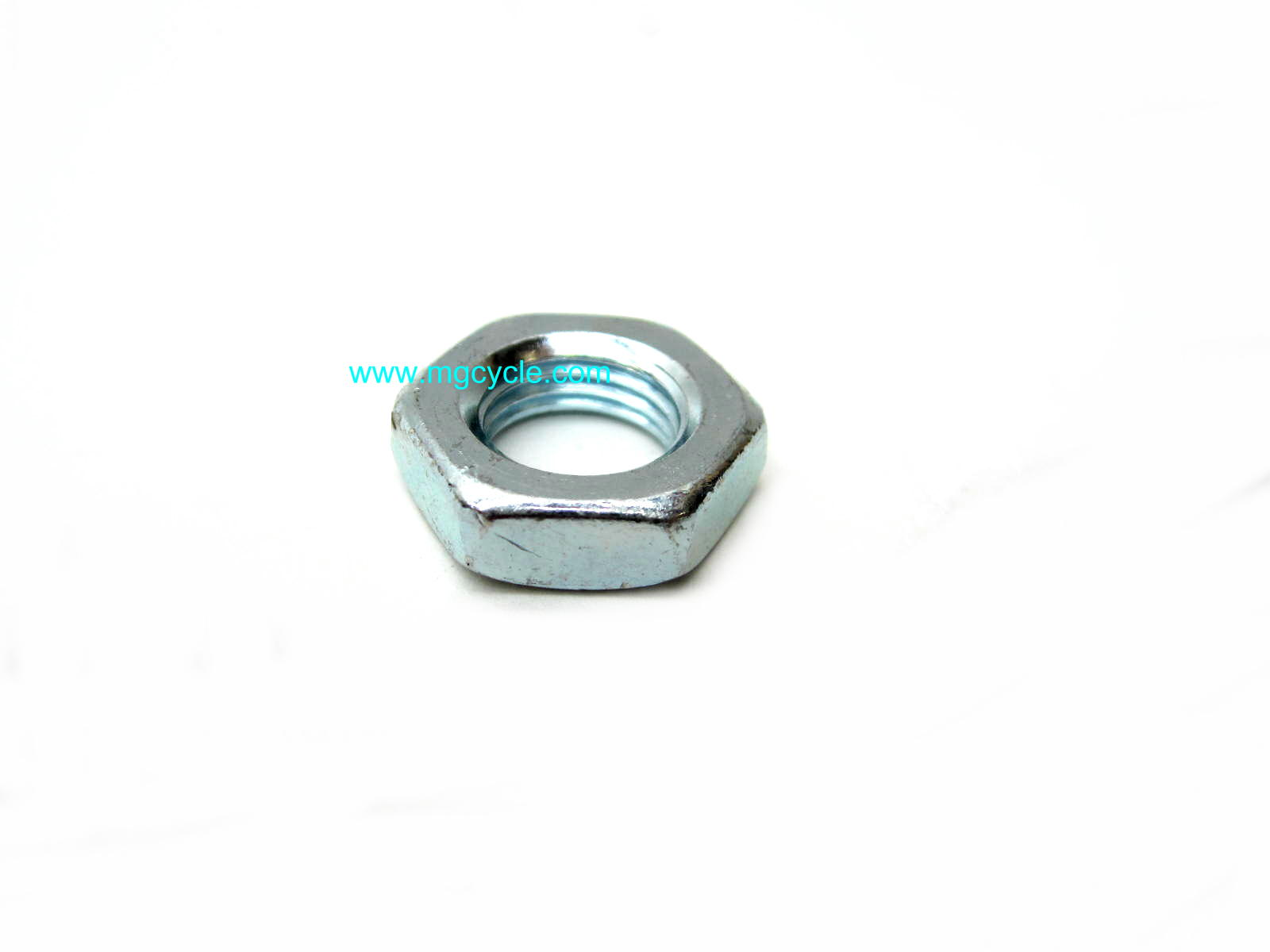 Jam nut, frame bolt M12 fine thread