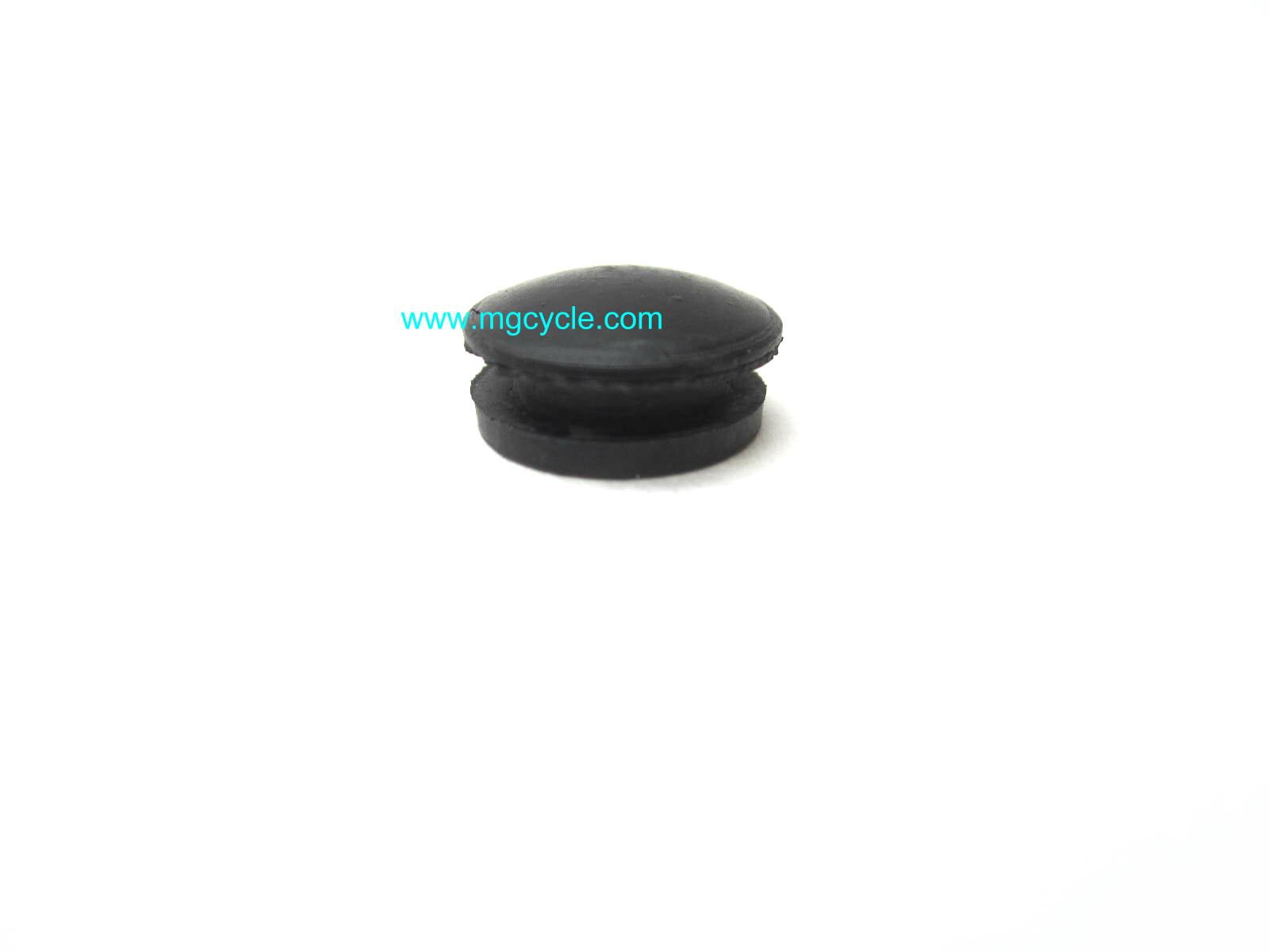 rubber plug for swingarm pivot cap, many models