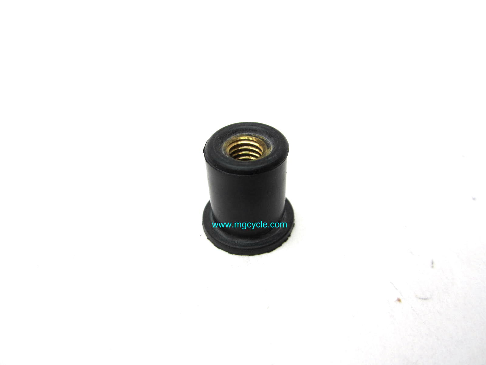 Rubber isolator well nut, body panels, frame rail covers