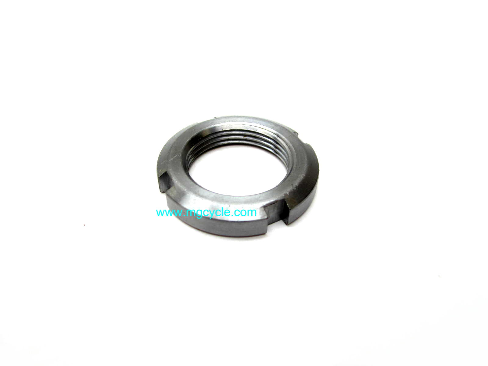 Ring nut for crankshaft, final drive, steering head, clutch hub