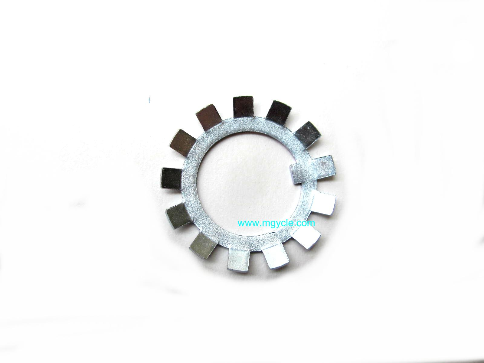 Star washer for crankshaft ring nut, V11 Sport 6 speed input hub