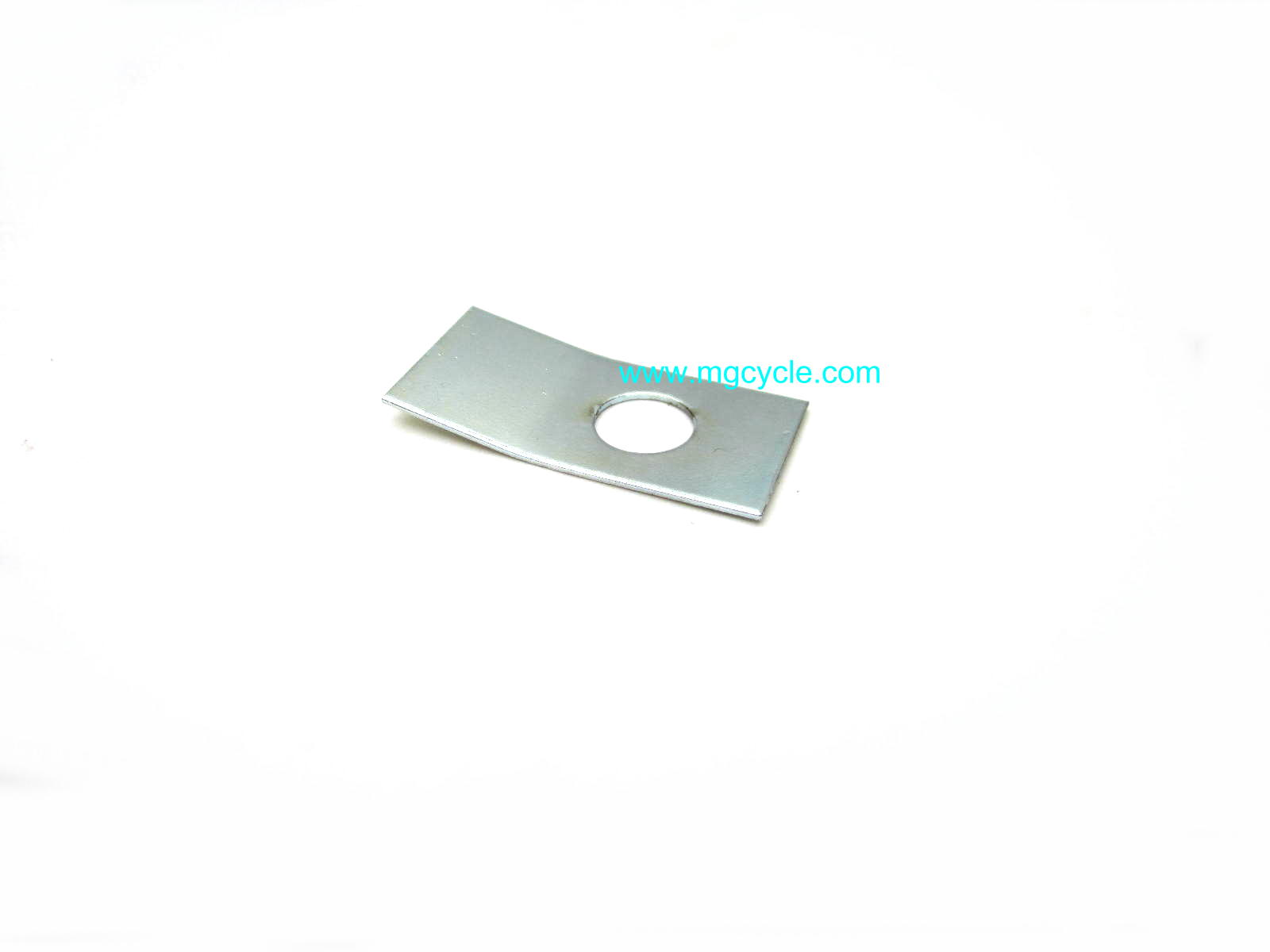 Rear drive flange locking plate, fold over lock plate