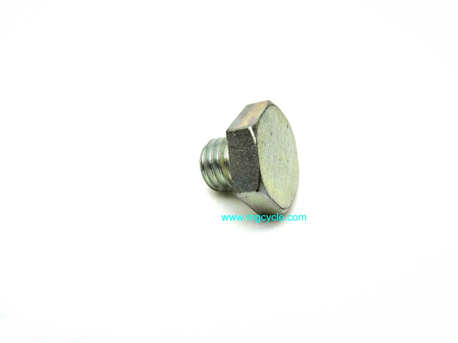 Drain plug, 10mm, transmission, final drive, engine,