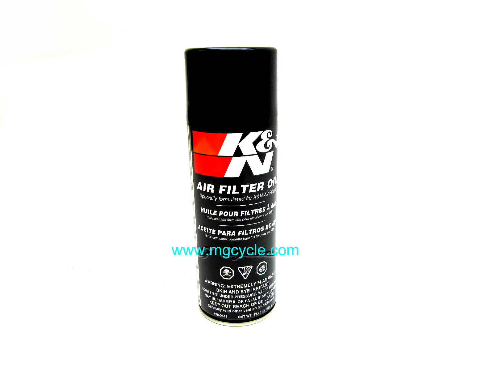 genuine K&N air filter oil