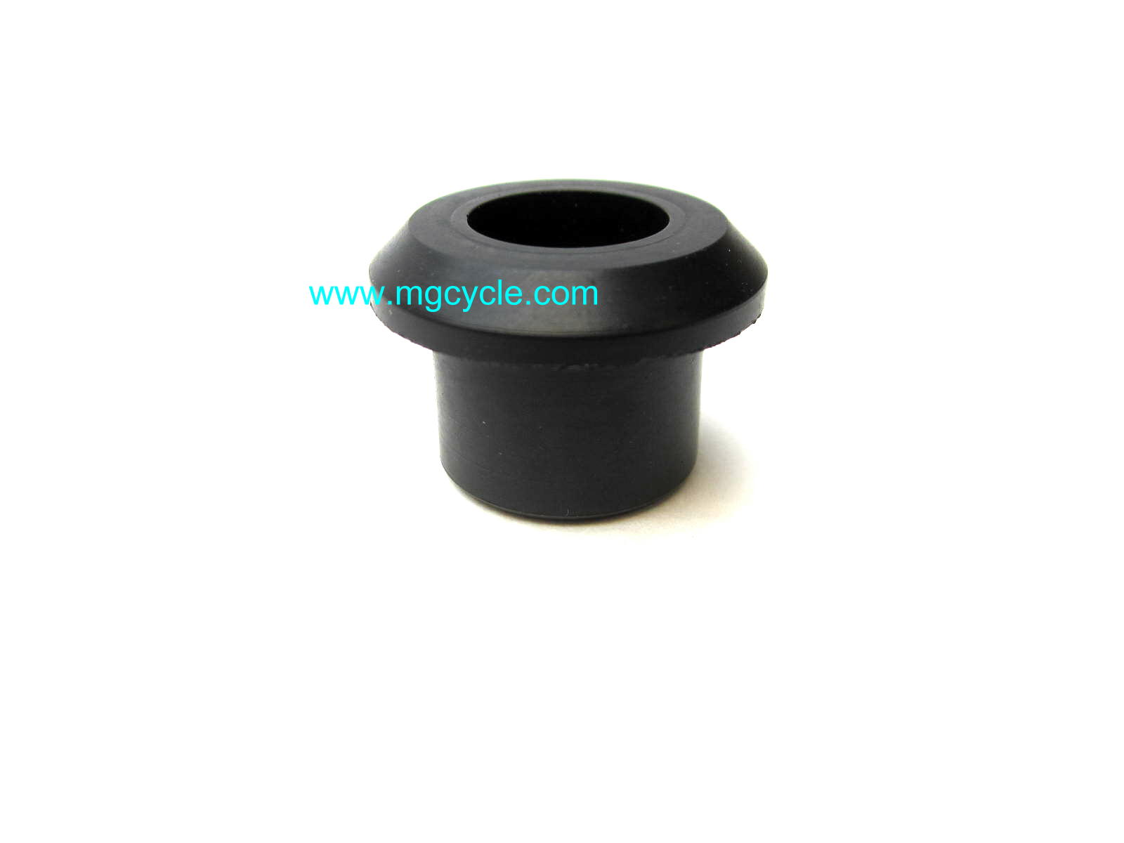 Rubber bushing for rubber mounted handlebars