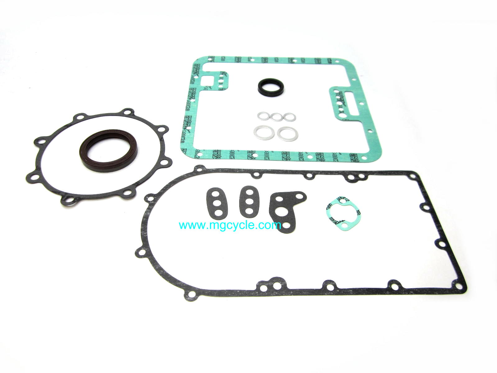Bottom end gasket/seal/oring kit V7 Sport 750S early 850T
