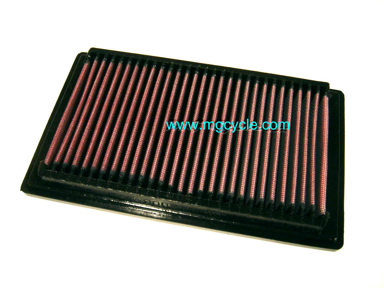 K&N air filter for V11 California V11 Sport V11 LeMans