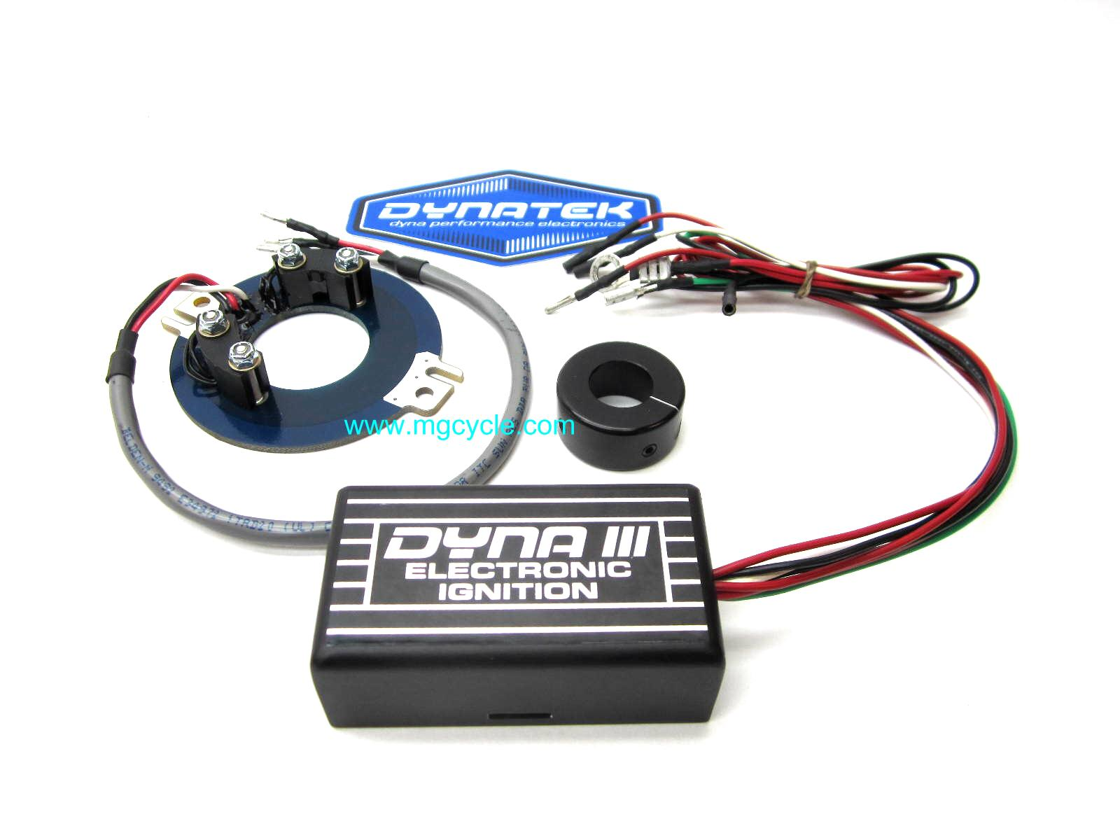DYNA III electronic ignition, twin point big twins