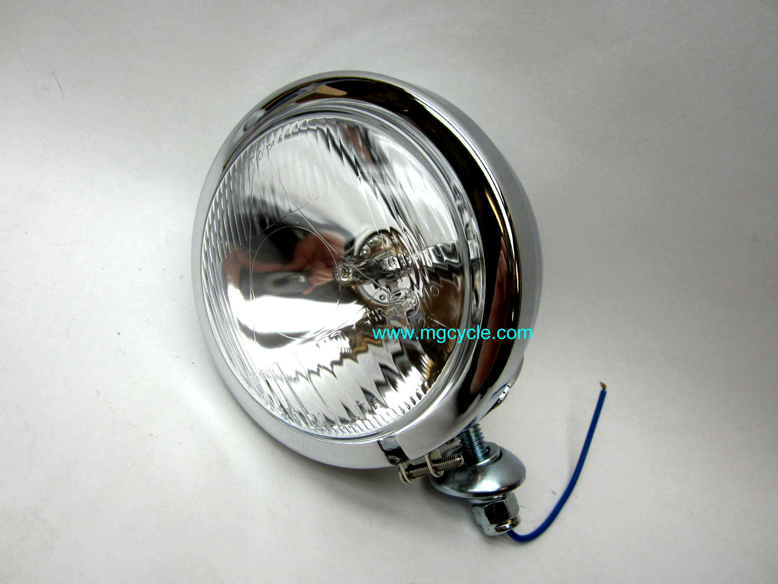 Spot light, 55W H3, chrome stud mount