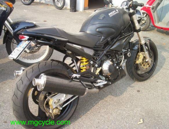 Mistral carbon low oval slip-ons Ducati Monster series